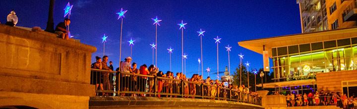 The Bridge of Stars. Photo by Jeffrey Stolzberg.