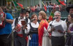 Folkloric performers, photograph by Jen Bonin.