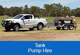 Tank Pump Hire
