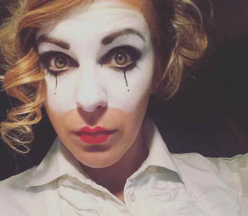 Harlequin Halloween Face T20 V2v2qj