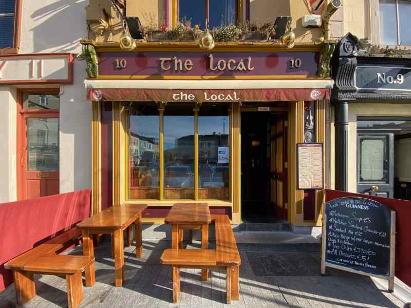 Place The Local Bar Exterior