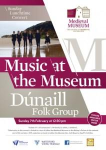 Poster Dúnaill Folk Group