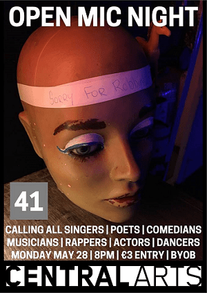 Open Mic 41 Poster