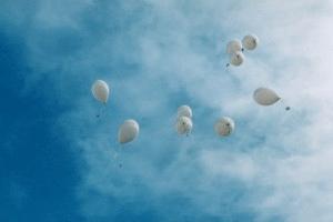 wishing balloons