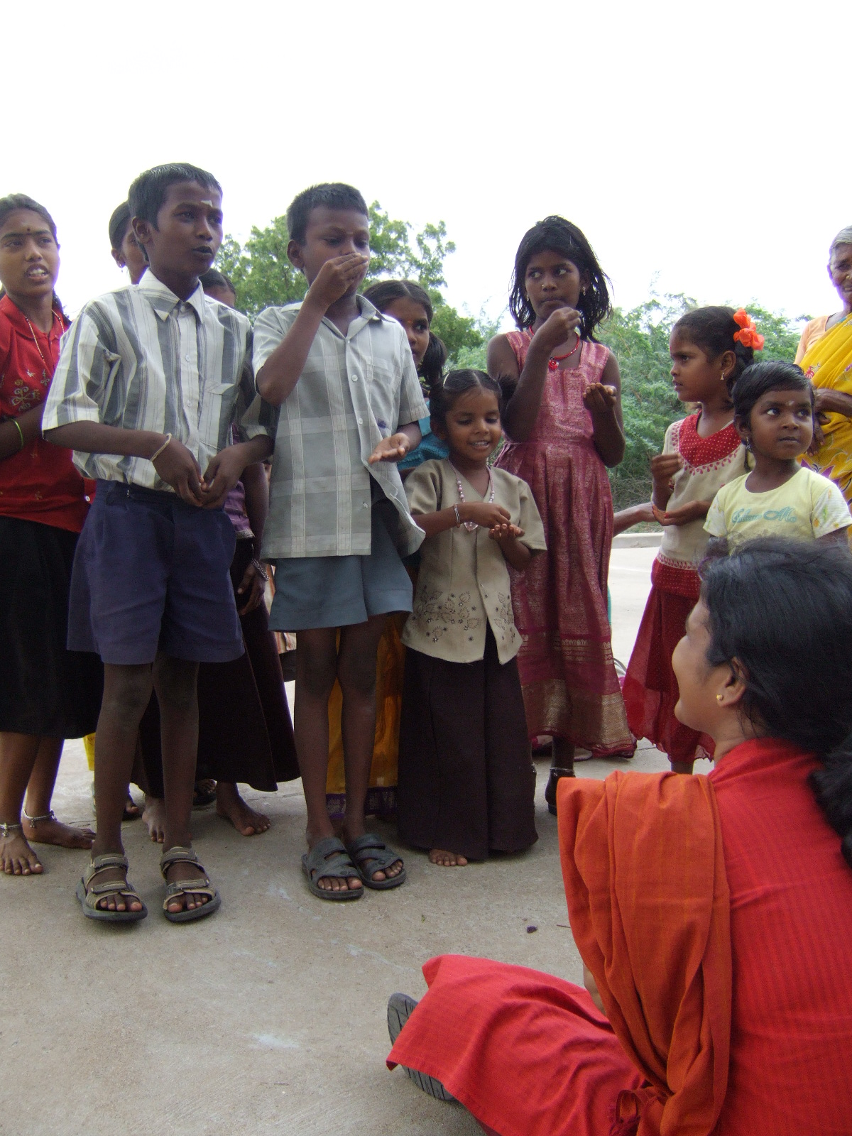 Singing Songs about Water and Hygiene