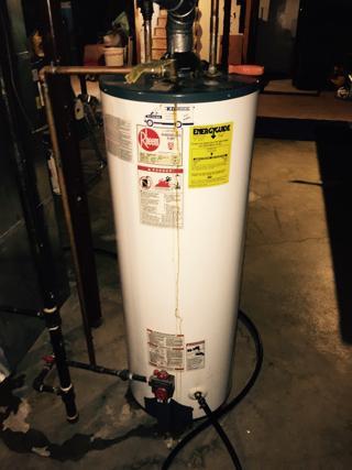 Rheem  41V50  Water Heater Database
