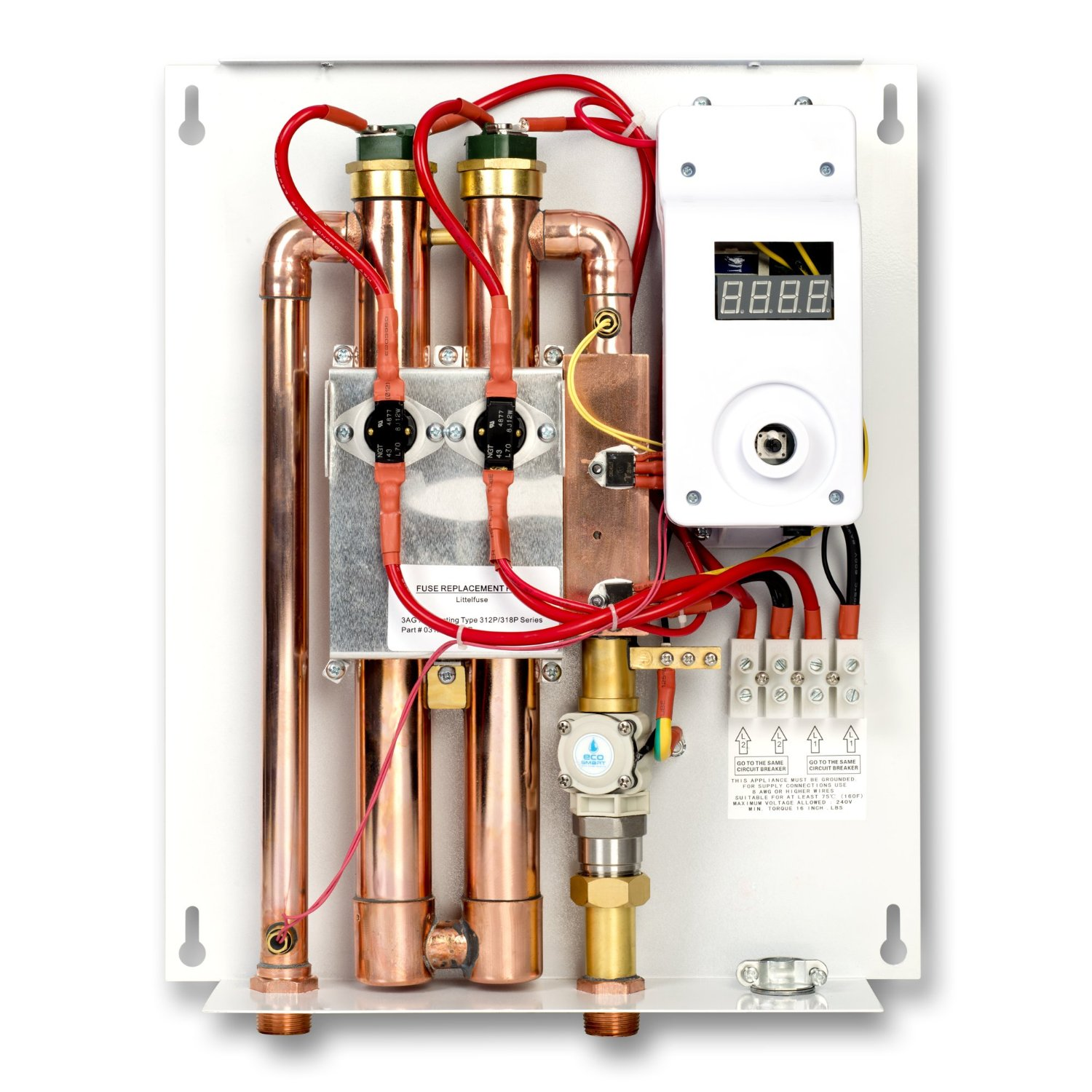 rheem tankless electric water heater wiring diagram for house lighting circuit ecosmart eco 18 patented