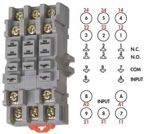 11 pin relay socket wiring diagram great white shark anatomy how to wire timers 10 timer
