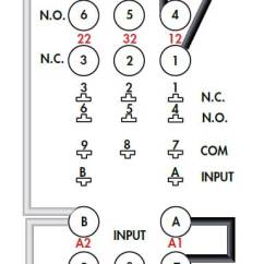 11 Pin Timer Relay Wiring Diagram Star Delta Diagrams How To Wire Timers