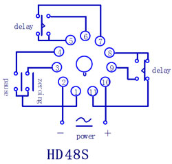 Dayton Timer Relay Wiring Diagram on