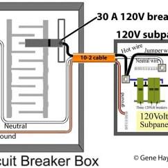 240v Sub Panel Wiring Diagram Tekonsha Prodigy 2 How To Change 120 Volt Subpanel 240 Larger Image
