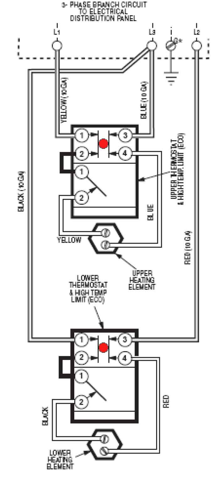 medium resolution of wire water heater for 3 phase larger image another image slightly different wiring larger