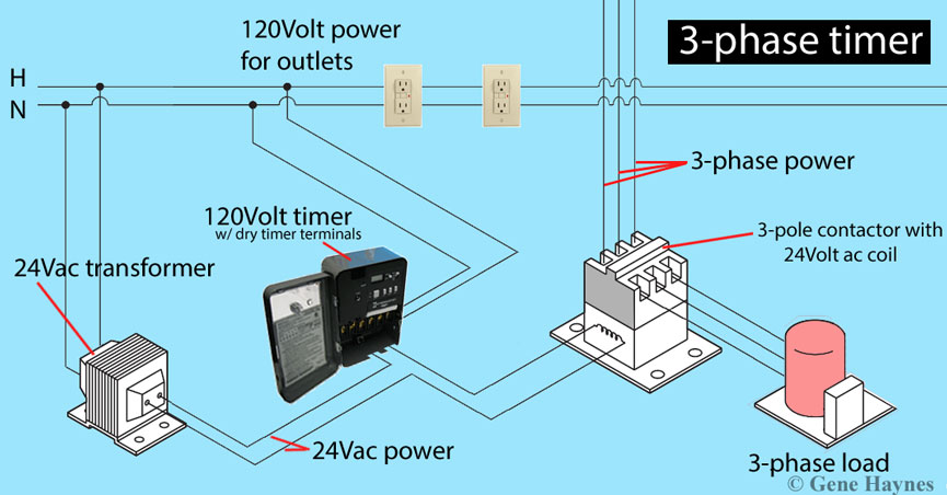 How To Install 3 Phase Timer