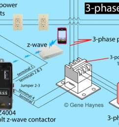 larger image 3 phase z wave contactor [ 1200 x 763 Pixel ]