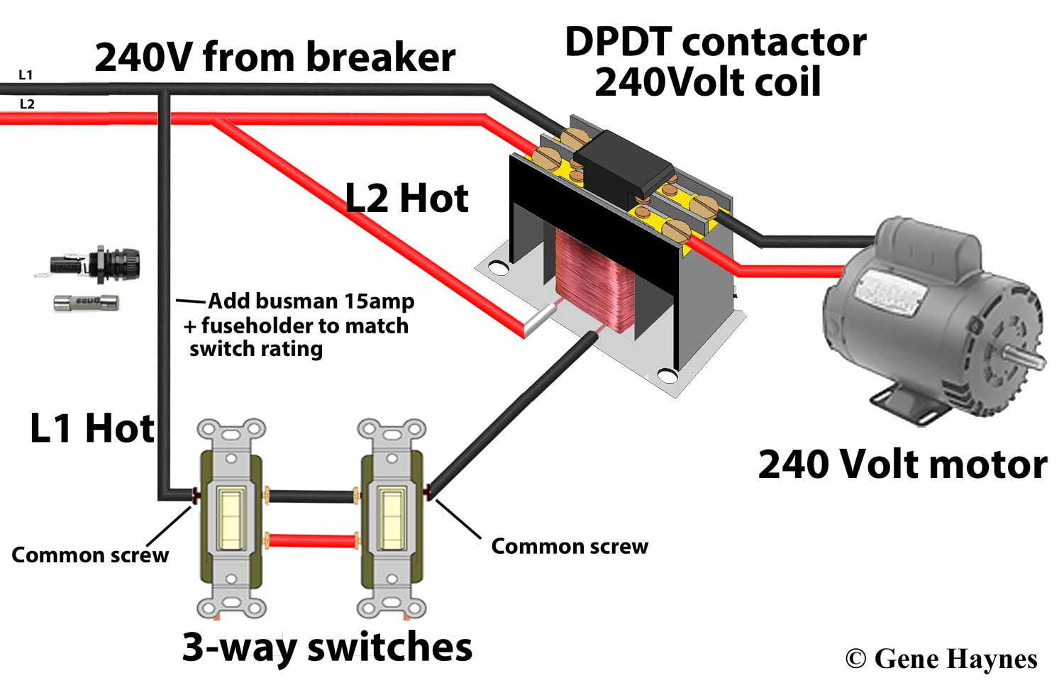 hight resolution of contactors wiring for switch and contactor coil