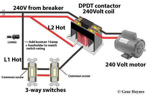 small resolution of contactors wiring for switch and contactor coil