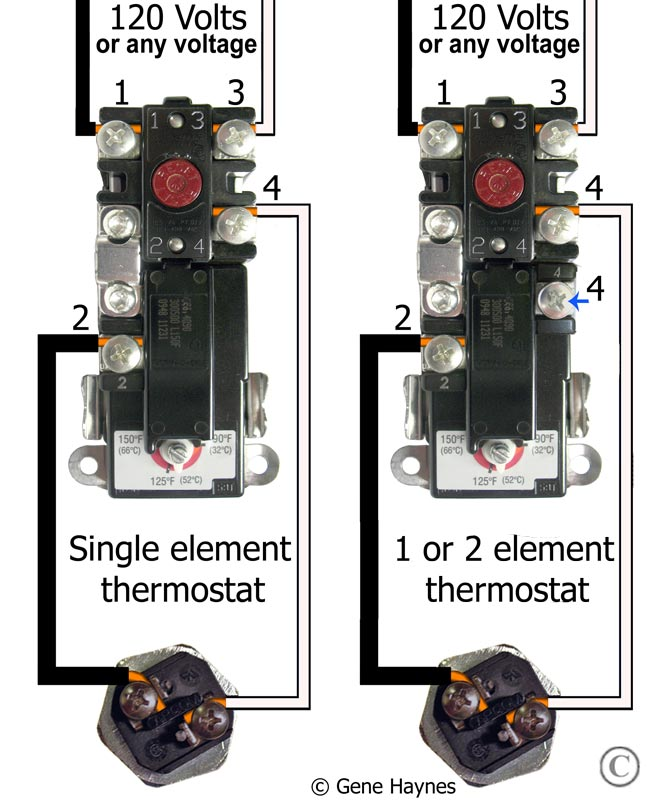 gas hot water heater thermostat wiring diagram dodge durango fuse box how to wire thermostats american see larger 240 volt single