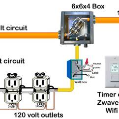 Home Wiring Diagram Bt Junction Box Basic House All Data Manual Electrical Download 240 Volt Circuits Can Be Controlled By
