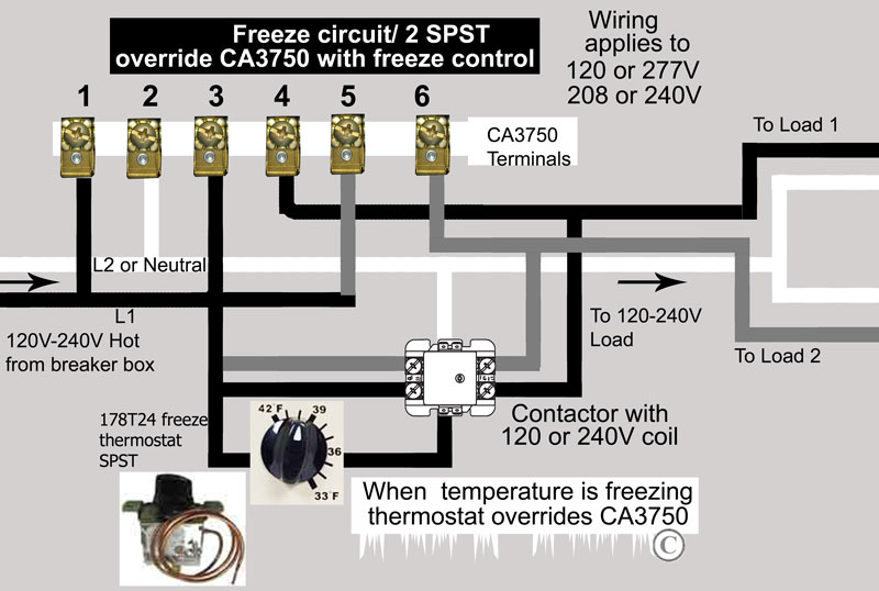 How to wire CA3750 z-wave contactor + Zwave basics