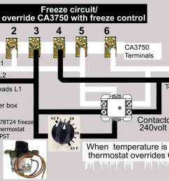 wire freeze control to ca3750 contactor larger image [ 1356 x 1000 Pixel ]