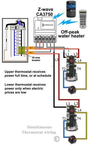 How to wire CA3750 zwave contactor  Zwave basics