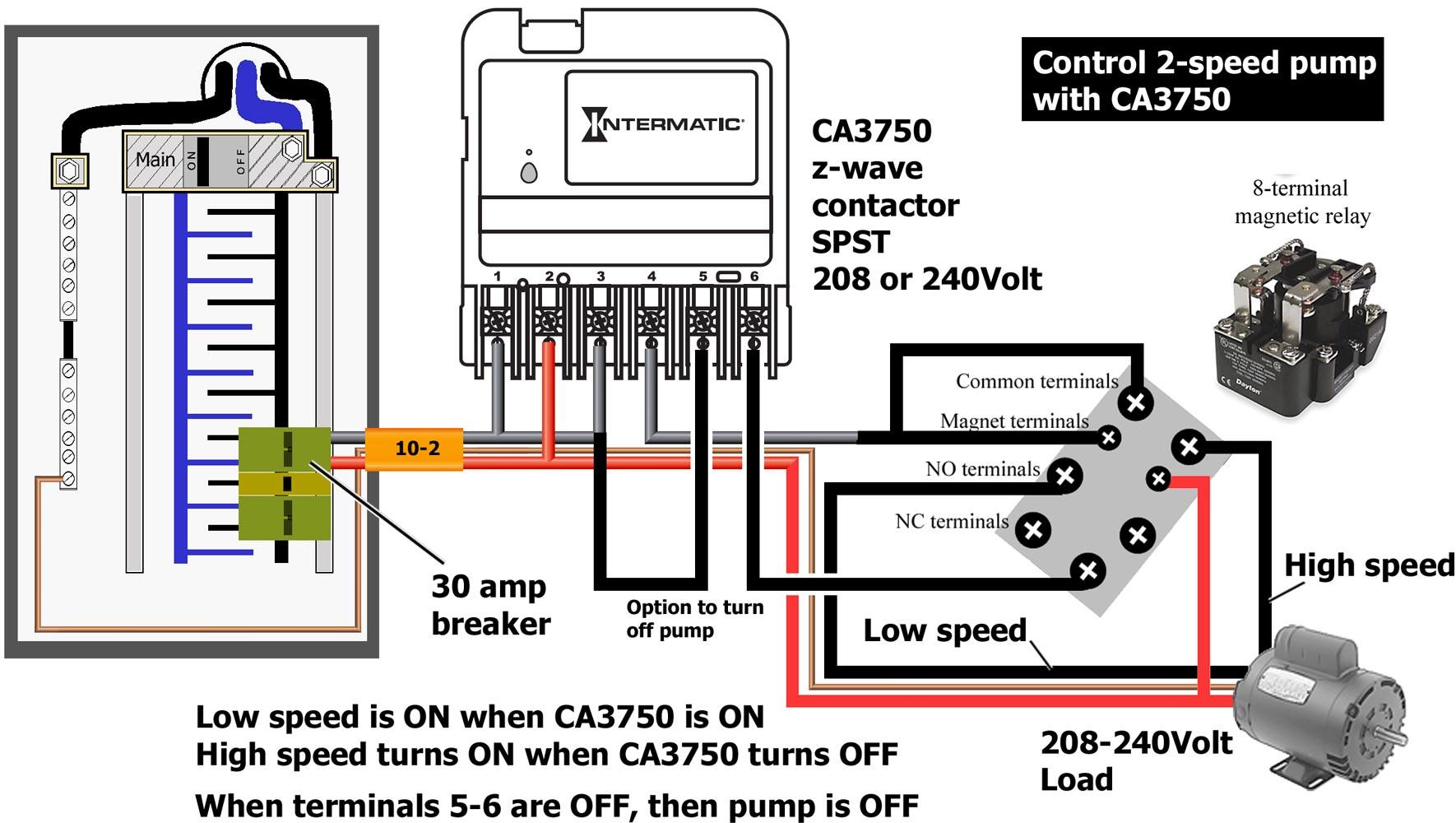 Intermatic Timer Wiring Diagram