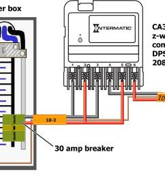 contactor relay box wiring wiring diagrams wiring a circuit how to wire intermatic ca3750 rib relay [ 1765 x 1129 Pixel ]