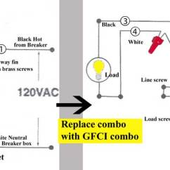 Switch Receptacle Combo Wiring Diagram 12v Water Pump How To Wire Cooper 277 Pilot Light Jumper Combination Outlet Larger Image Buy