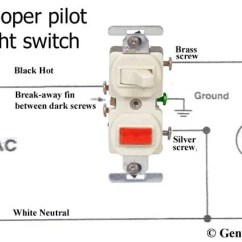 Wiring Diagram For A Switched Outlet Rx8 Coil Pack Switch Indicator Light Diagrams Schematic Pilot How To Wire Single Pole