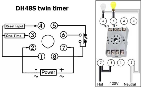 How to wire twin timer