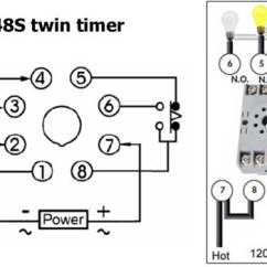 Time Delay Relay Circuit Diagram 2005 Suzuki Eiger 400 Wiring How To Wire Twin Timer