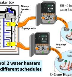 larger image timer or zwave or wifi for electric water heater each water heater can have different schedule [ 1200 x 930 Pixel ]