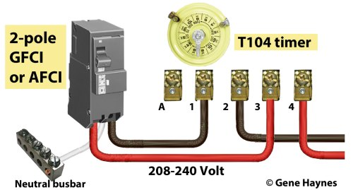 small resolution of wiring diagram gfci circuit breaker wiring diagram for you wiring 2 pole gfci breaker how to