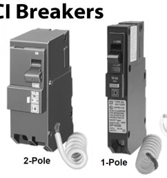 how to wire gfci afci circuit breakergfci circuit breakers larger image [ 1569 x 842 Pixel ]