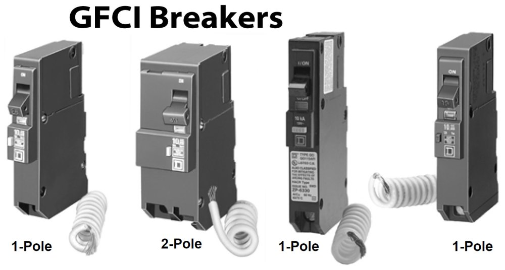 medium resolution of how to wire gfci afci circuit breakergfci circuit breakers larger image