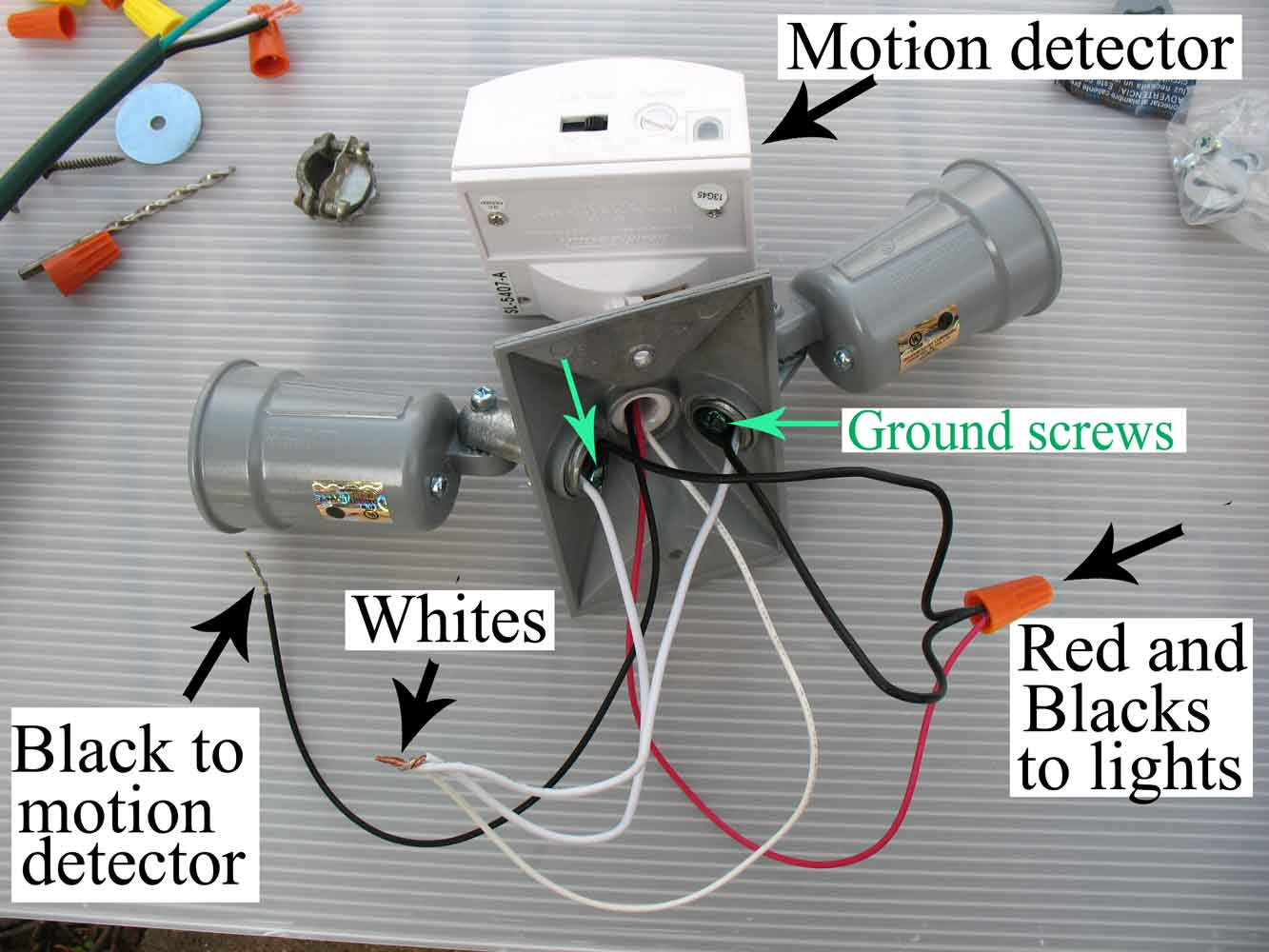 hight resolution of wire motion detector larger image