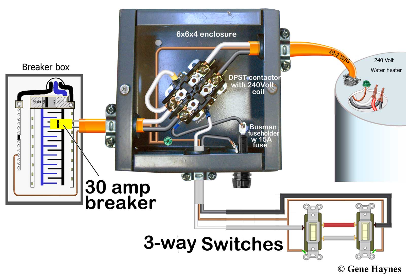 hight resolution of larger image control water heater with two 15 20 amp 3 way switches same as above