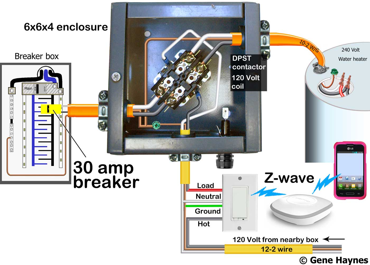 hight resolution of larger image control 240 volt with x10 wifi or z wave requires