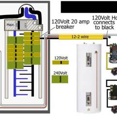 110 Volt House Wiring Diagram Kenworth How To Wire Water Heater For 120 Volts