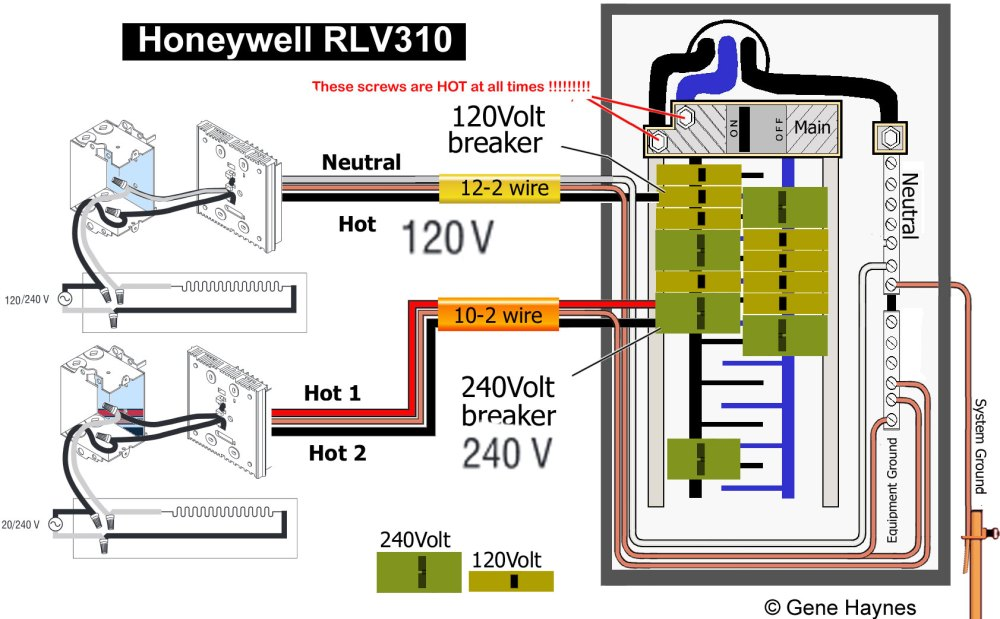 medium resolution of inside main breaker box 14 thermostat how to wire honeywell rlv310 thermostat honeywell baseboard thermostat wiring