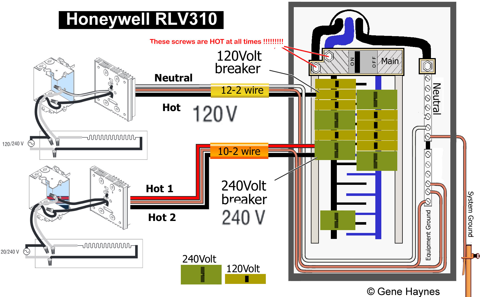 hight resolution of inside main breaker box 14 thermostat how to wire honeywell rlv310 thermostat honeywell baseboard thermostat wiring