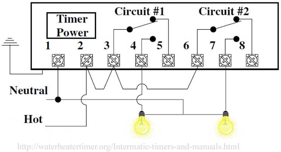 SOLVED: I need a wiring diagram for an intermatic timer