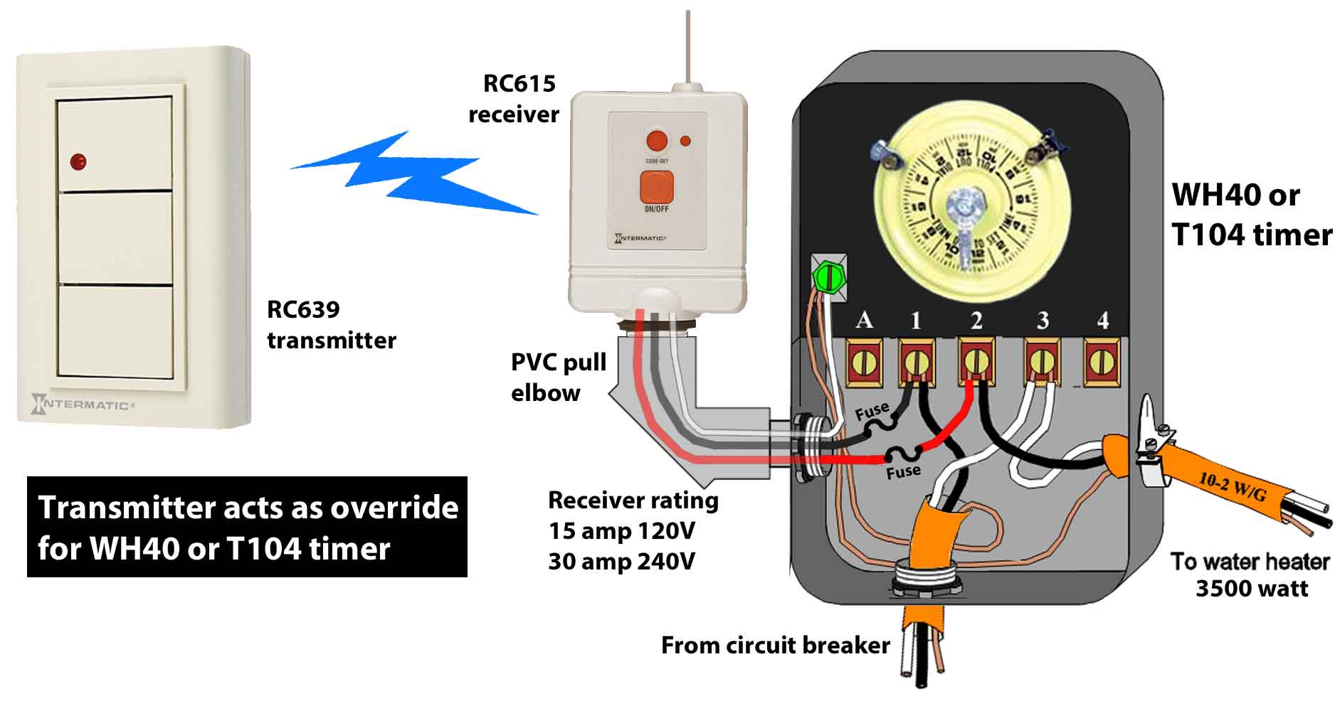 hight resolution of how to wire wh40 water heater timer rh waterheatertimer org hot water heater wiring diagram for