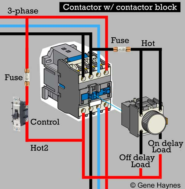 208v contactor wiring  schematic wiring diagram electron