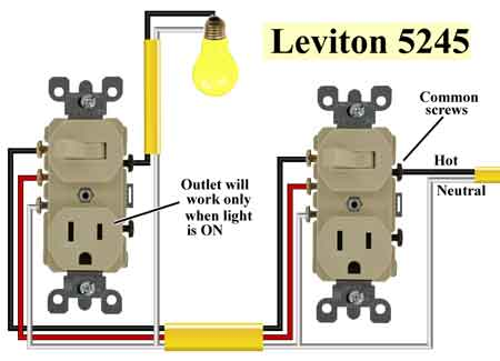 wiring diagram 3 way switch with receptacle efcaviation