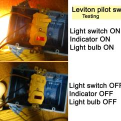 Three Way Switch Wiring Diagram Multiple Lights Atwood Rv Furnace How To Wire Cooper 277 Pilot Light See Testing Photographs 1 2
