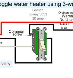 how to wire water heater with two switches 20 amp 240v heater wiring diagram [ 1946 x 1079 Pixel ]