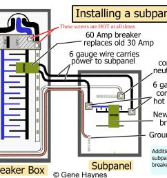 sub panel wiring diagram wiring diagram operations sub panel wiring diagram garage sub panel wiring diagram source how to install  [ 1607 x 1136 Pixel ]