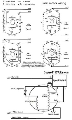 How to wire 3speed fan switch
