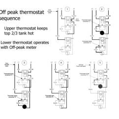 Hot Water Tank Wiring Diagram 1982 Kz1000 Ltd How To Wire Off Peak Heater Thermostats
